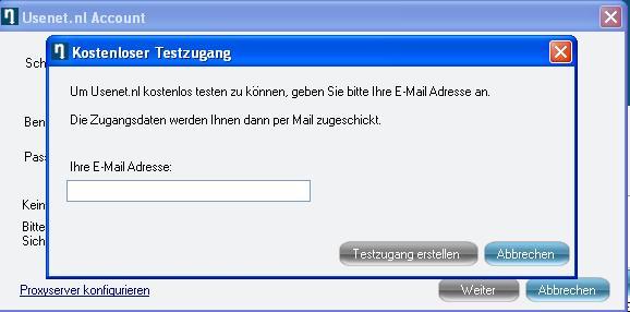 Usenet Installation